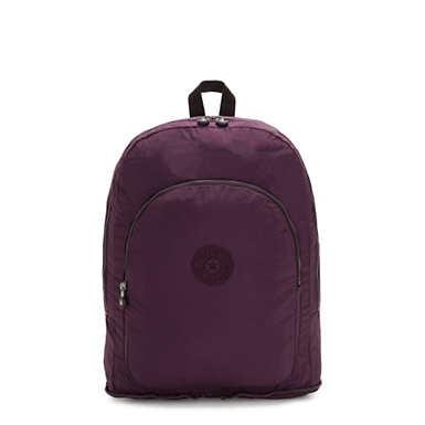 Earnest Foldable Backpack - Dark Plum