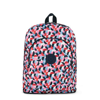 Earnest Printed Foldable Backpack - Forever Tiles