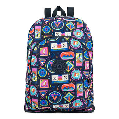 Earnest Printed Foldable Backpack - Wandering Roads