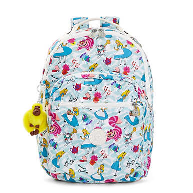 Disney's Alice in Wonderland Seoul Printed Laptop Backpack - Very Merry