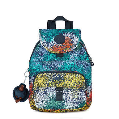 Queenie Small Printed Backpack - undefined