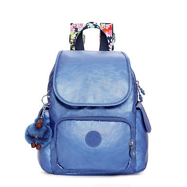Ravier Extra Small Metallic Backpack  - Metallic Scuba Diver Blue