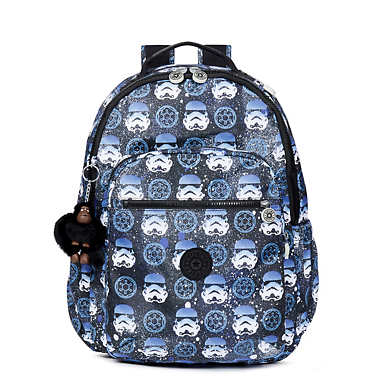 Star Wars Seoul Go Large Printed Backpack - Interstellar Storm
