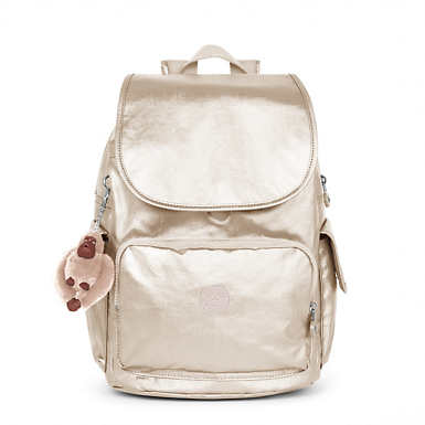 City Pack Metallic Backpack - undefined