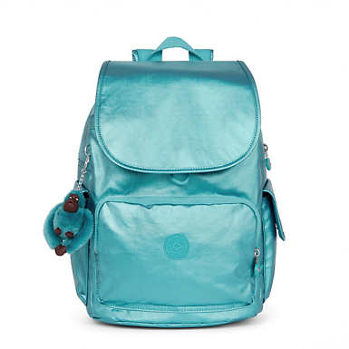 City Pack Metallic Backpack - Turkish Tile Metallic