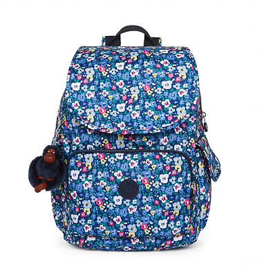City Pack Printed Backpack - Bustling Petals