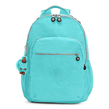 Seoul Go Large Laptop Backpack - Blue Splash