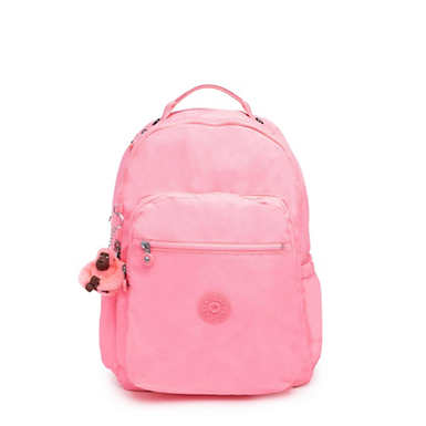 "Seoul Go Large 15"" Laptop Backpack - Conversation Heart Tonal Zipper"
