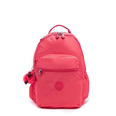 "Seoul Go Large 15"" Laptop Backpack - Grapefruit Tonal Zipper"