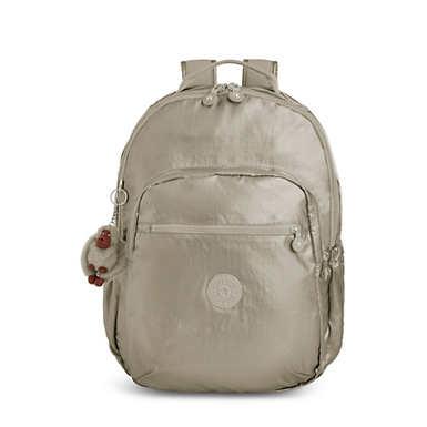 "Seoul Go Large Metallic 15"" Laptop Backpack"