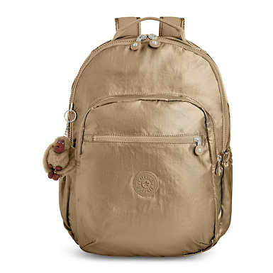 "Seoul Go Large Metallic 15"" Laptop Backpack"