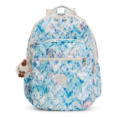 Seoul Go Large Printed Laptop Backpack - Boogie Beach