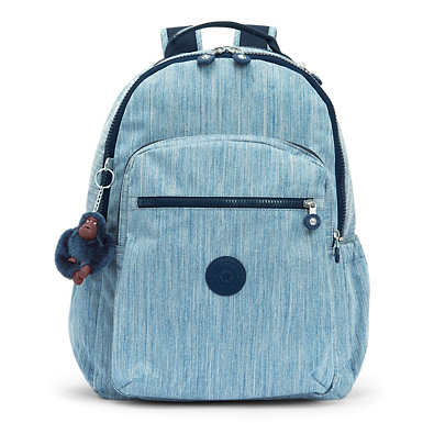Seoul Go Large Laptop Backpack - Indigo Blue