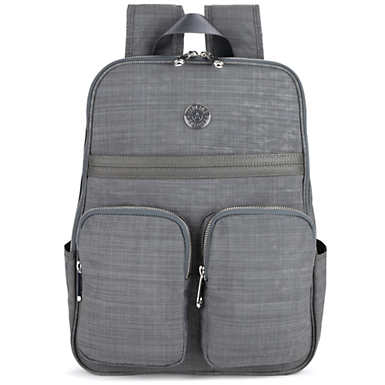 Sandra Laptop Backpack - Dusty Grey Dazz