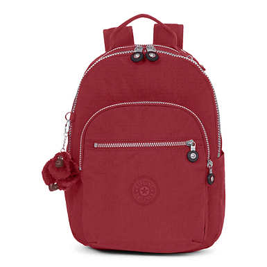 Seoul Go Small Backpack - Brick Red