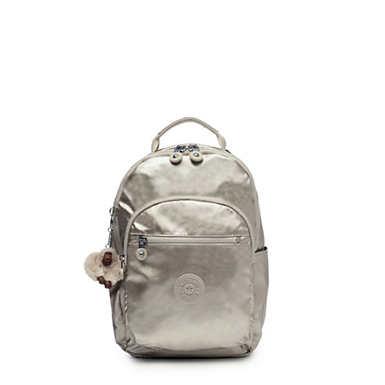 "Seoul Go Small Metallic 11"" Laptop Backpack"