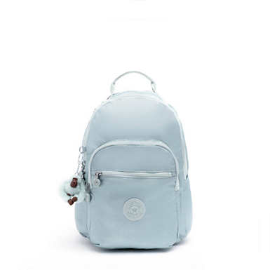 Seoul Go Small Metallic Backpack - Arctic Metallic