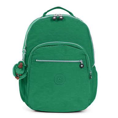 Seoul Go Extra Large Laptop Backpack - Crocodile Green