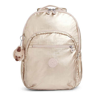 Seoul Go Extra Large Metallic Extra Large Laptop Backpack - Sparkly Gold