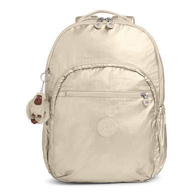 Seoul Go Extra Large Metallic  Laptop Backpack