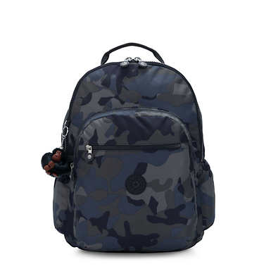 "Seoul Go Extra Large Printed 17"" Laptop Backpack - Cool Camo"