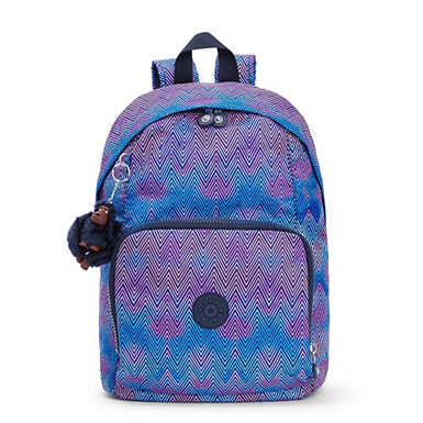 Ridge Medium Printed Backpack - Zesty Lines