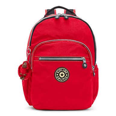 Seoul Go Vintage  Large Laptop Backpack - Red