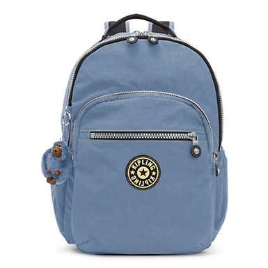 """Seoul Go Vintage  Large 15"""" Laptop Backpack - Blue Jean"""
