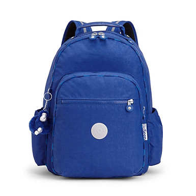 "Seoul Go Large Light Up 15"" Laptop Backpack - Cobalt Flash Light"
