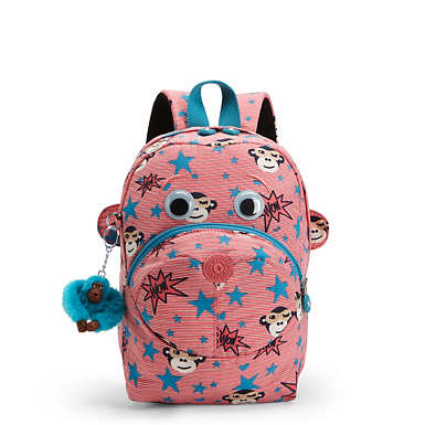Faster Kids Small Printed Backpack - undefined