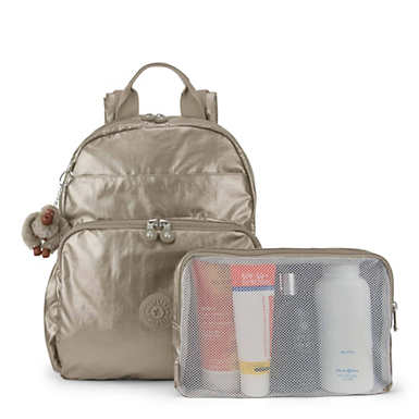 Maisie Metallic Diaper Bag Backpack | Kipling