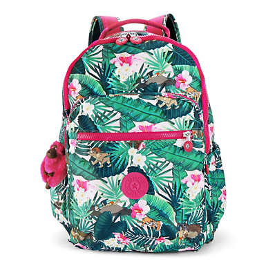 "Disney's Jungle Book Seoul Go Large Printed 15"" Laptop Backpack - Jumpin'Jungle"