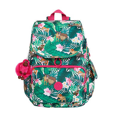 Disney's Jungle Book City Pack Printed Medium Backpack - Jumpin'Jungle