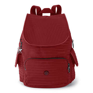 City Pack Small Backpack - Risky Red