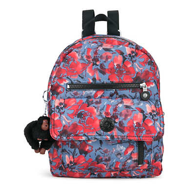 Carrie Printed Backpack - Festive Floral