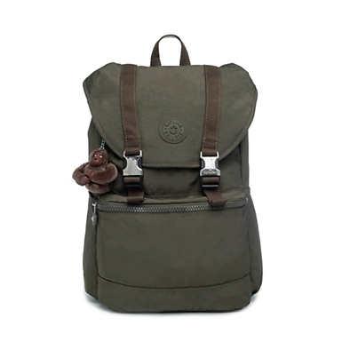 """Experience 15"""" Laptop Backpack - Jaded Green Tonal Zipper"""