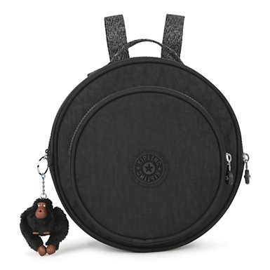 Rani Round Backpack - Black