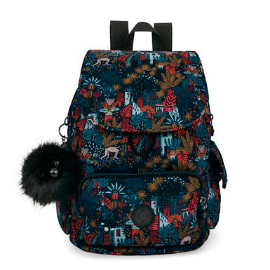 City Pack Small Printed Backpack - City Jungle