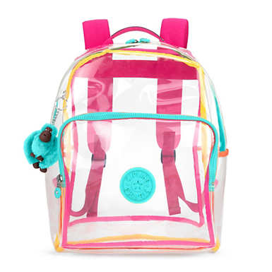 Bright Medium Clear Backpack - Clear