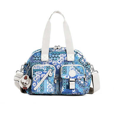 Defea Printed Handbag