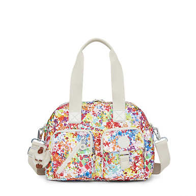 Defea Printed Handbag - undefined