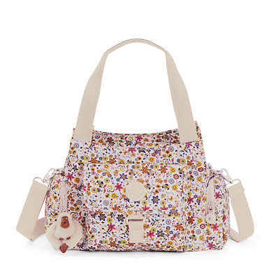 Felix Printed Handbag - Chatty Daisies