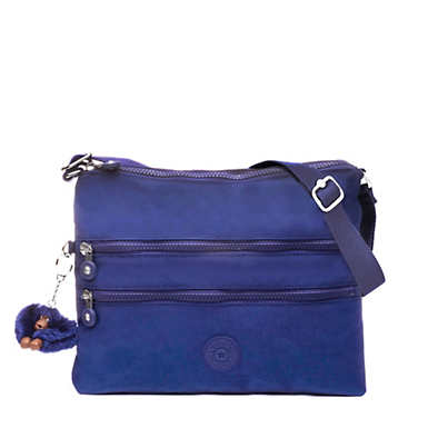 Alvar Crossbody Bag - Cobalt Dream Tonal Zipper