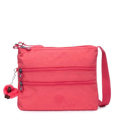 Alvar Crossbody Bag - Grapefruit Tonal Zipper