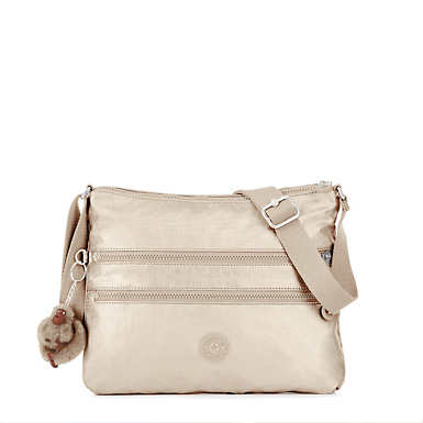 Alvar Metallic Crossbody Bag - undefined