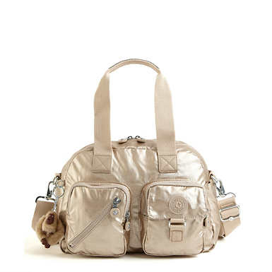 Defea Metallic Handbag - undefined