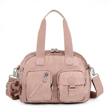 Defea Metallic Handbag - Rose Gold Metallic