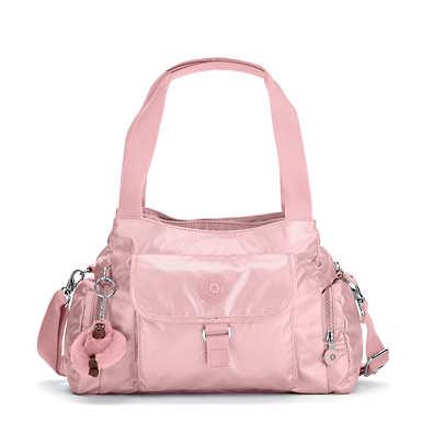 Felix Large Metallic Handbag - undefined