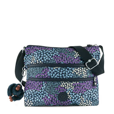 Alvar Printed Crossbody Bag - Dotted Bouquet