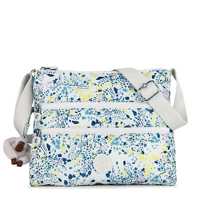 Alvar Printed Crossbody Bag - Delicate Vines